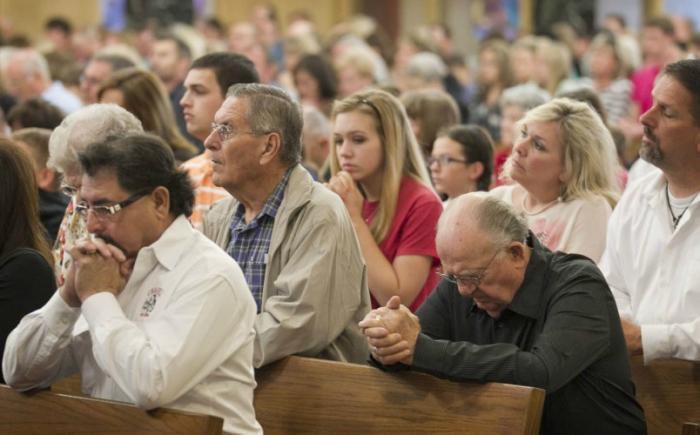 Unite in prayer.