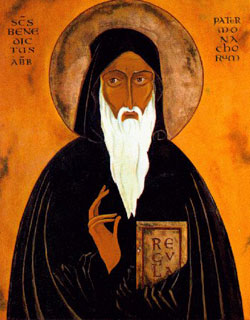Image of St. Benedict of Nursia