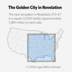 New Jerusalem Diagram Compustar Wiring How Large Is The Mentioned In Revelation Defenders