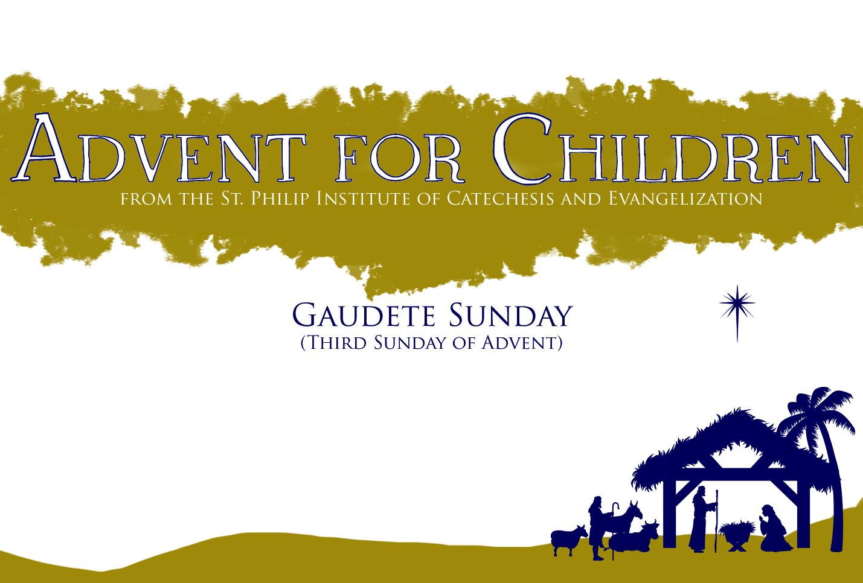 Advent for Children: Third Week