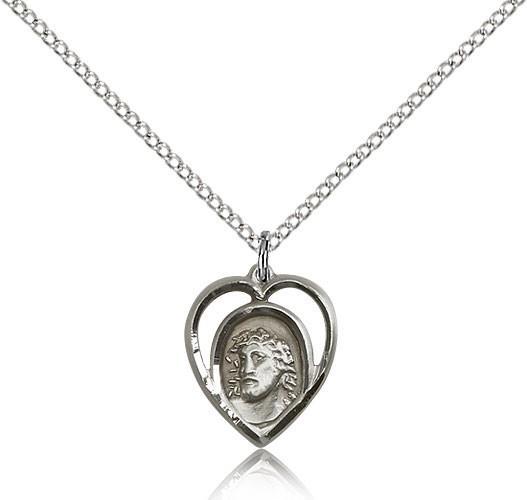 Sterling Silver Ecce Homo Necklace