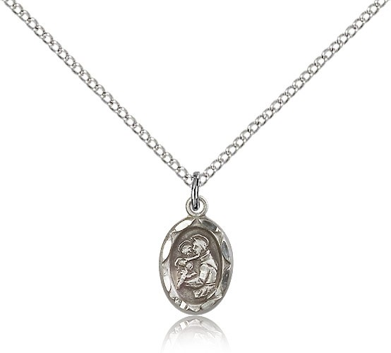 Women's Oval St. Anthony Medal