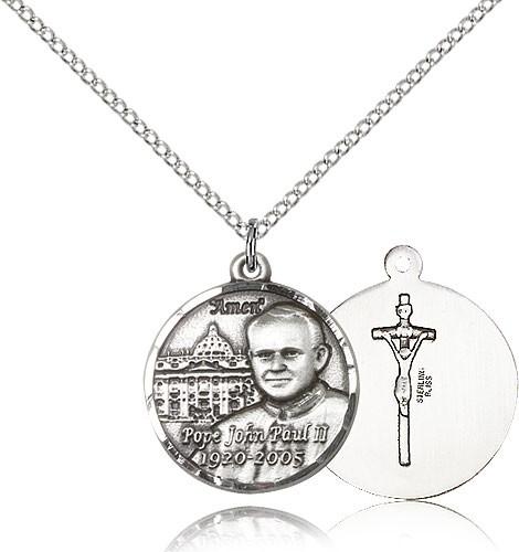 Women's Saint John Paul II with Vatican Medal