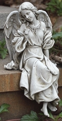 Beautiful Baby Girl Hd Wallpapers 1080p Sitting Angel Garden Statue 12 3 4 Quot H