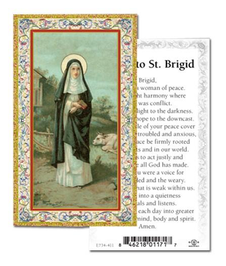 St Brigid Prayer Cards 100 Pack