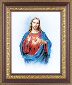 sacred heart of jesus art framed