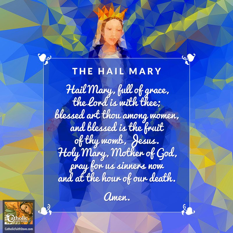 the hail mary reflecting