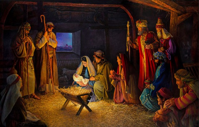 60d70e46f HOMILY OF THE SOLEMNITY OF THE NATIVITY OF OUR LORD JESUS CHRIST(CHRISTMAS  MID NIGHT MASS)