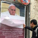 Rome wakes up to find city full of anti-Pope Francis posters.