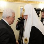 Palestinian President meets with Russian patriarch