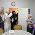 "Pope Francis in surprise ""mercy Friday"" visit, blesses homes of Rome's poor"