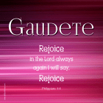 HOMILY FOR THE THIRD SUNDAY OF ADVENT YEAR B (GAUDETE SUNDAY) (5)