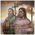 YEAR B: HOMILY FOR THURSDAY OF THE 5TH WEEK OF EASTER FEAST OF SAINTS PHILIP AND JAMES (2)