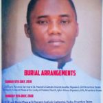Nigerian Catholic Diocese of Awka set to bury their Parish priest