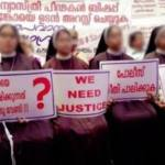 Nuns in India protest against bishop accused of rape