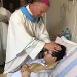 Facing terminal cancer, Polish man ordained priest in hospital bed