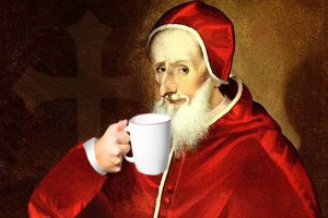 pope-coffee