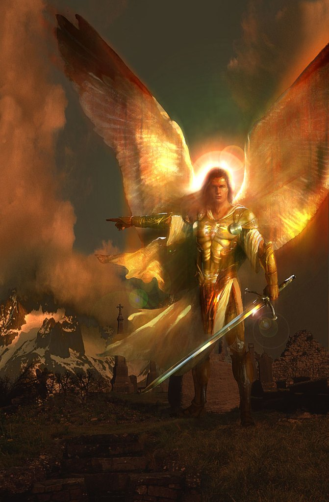 St Michael The Archangel, Defend Us In Battle  The -6885