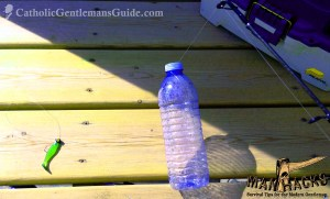 ManHacks: Makeshift Bottle Bobber