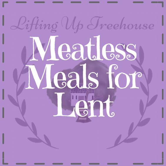 Meatless meals for lent
