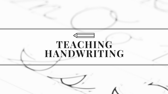 Teaching D'Nealian or Modern Handwriting