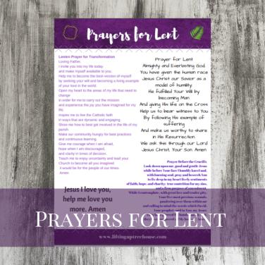 prayerslent