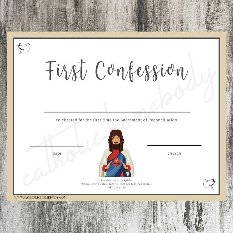 1st confession certificate3