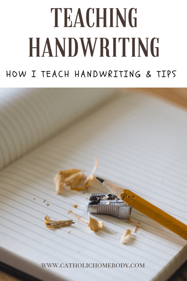 Teachinghandwriting