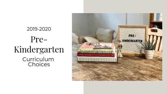 Pre-Kindergarten Curriculum 2019-2020 | Catholic Homebody