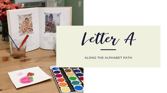 Along the Alphabet path letter a