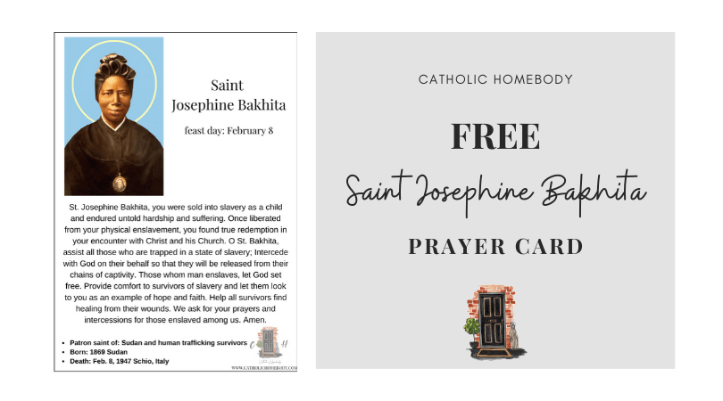 Saint Josephine Bakhita feast day activities
