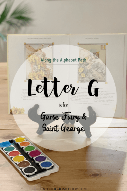 Along the alphabet path, Catholic letter of the week