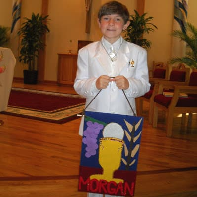 First Communion Craft Make A First Communion Banner