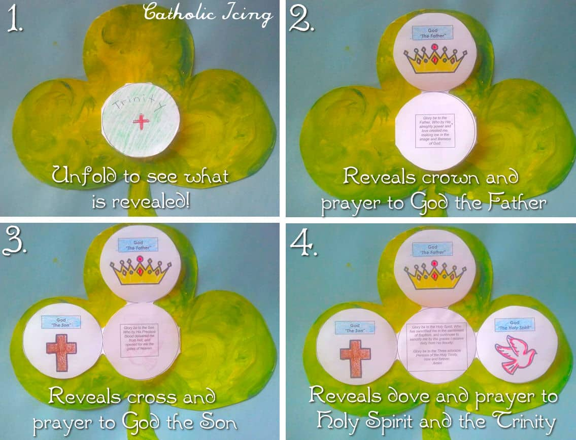 Printable Trinity Booklet For Kids St