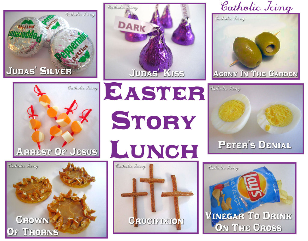 easter story lunch for Good Friday
