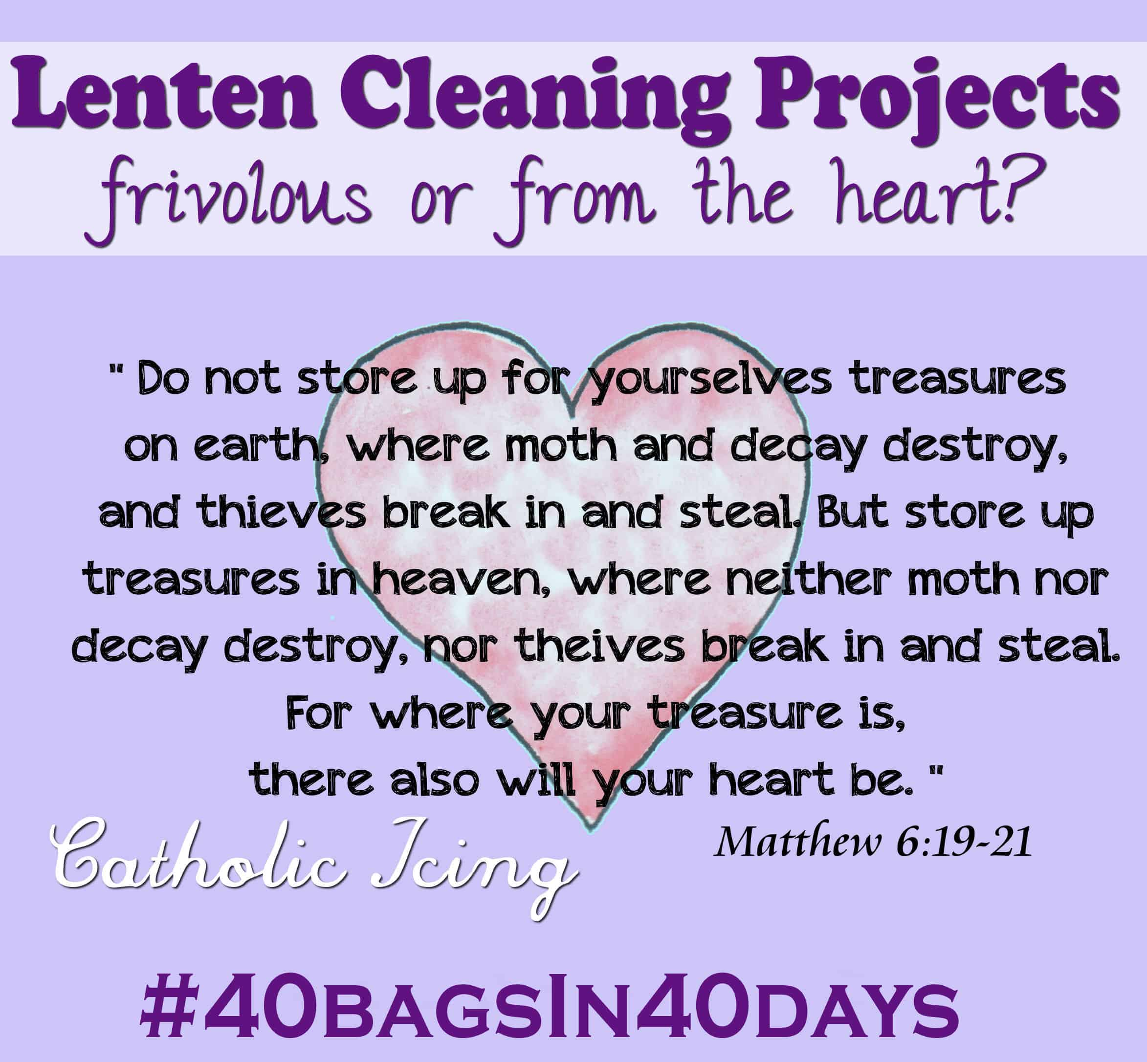 Decluttering During Lent Frivolous Or From The Heart