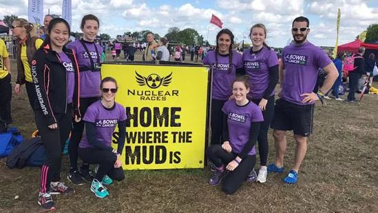 Boarders Rush to Raise Money for Cancer Charity