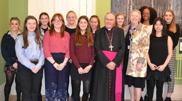 Sixth-Form-Mary-Ward-scholars-and-CAFOD-Young-Leaders-with-Bishop-Alan-Hopes