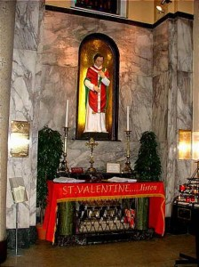 Feb 14 St Valentine D 269 Catholicireland
