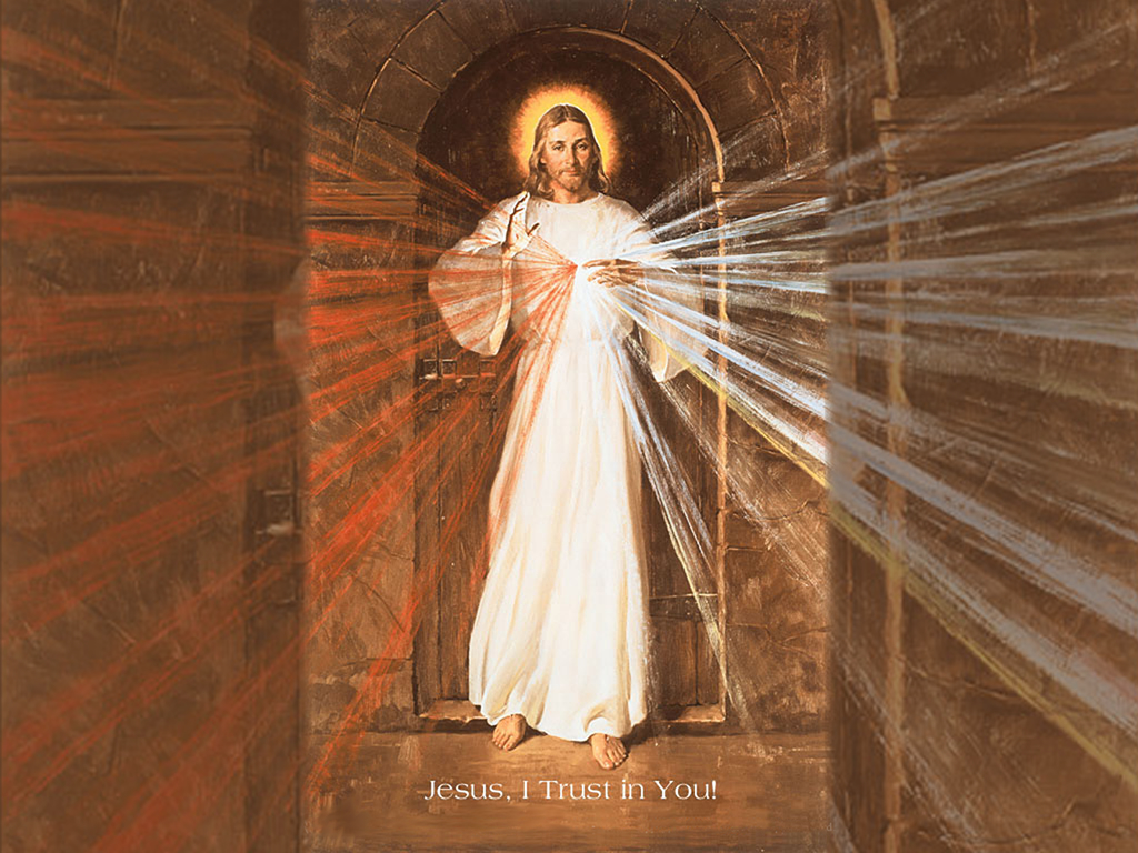 divine mercy: drink it up | catholic lane