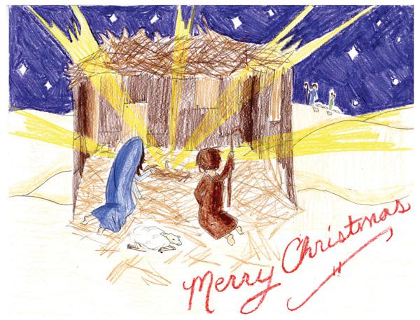 Catholic Messenger Christmas Card Contest The Catholic