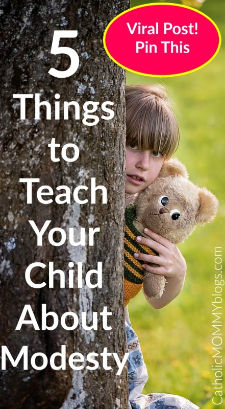 5 Things to Teach Your Child about Modesty for Christian Families.