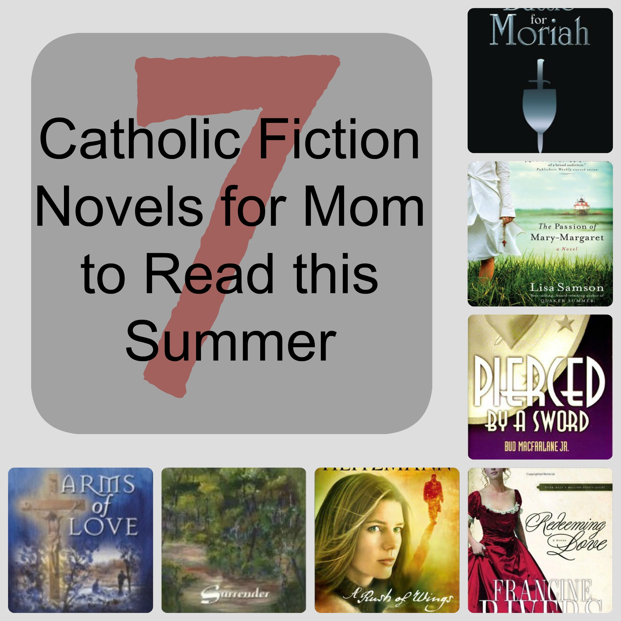 7 Catholic Fiction Novels for Mom to Read this Summer