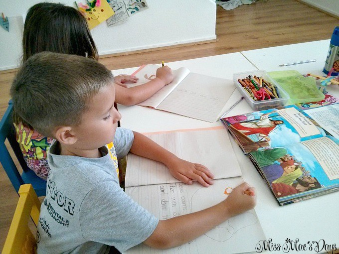 Journaling About Jesus' Miracles with Children