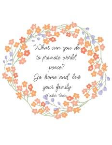 Saint Mother Teresa Free Printable Quote