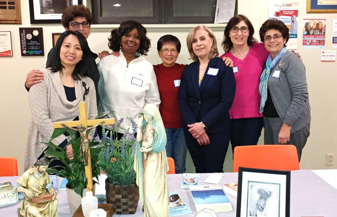 Mothers Group at St. Justin Martyr Parish, Unionville