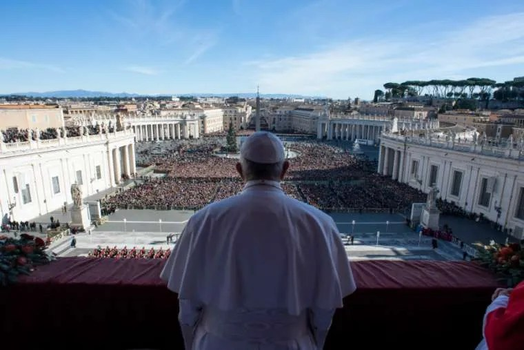 Pope Francis Christmas Wish Peace Brotherhood In World