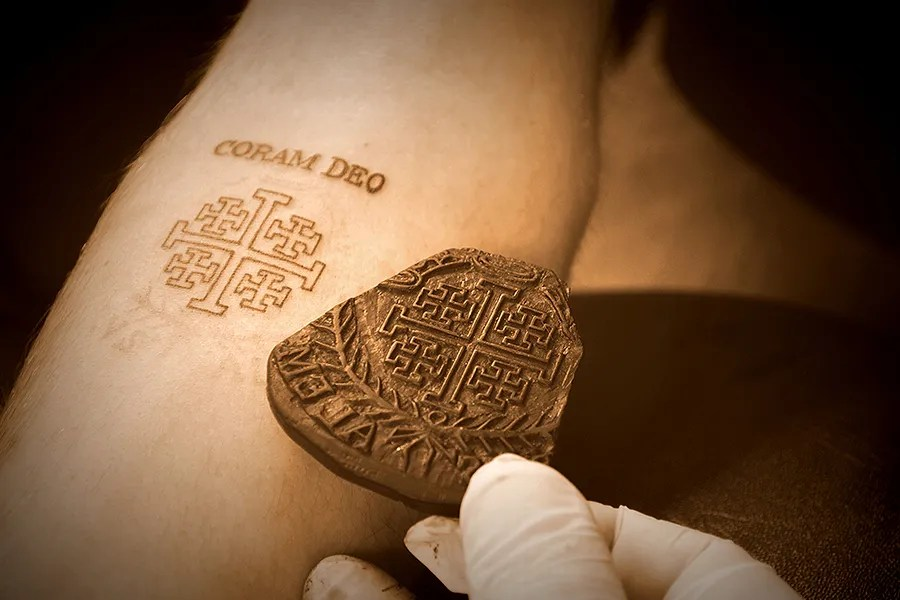 Holy tattoo A 700year old Christian tradition thrives in Jerusalem