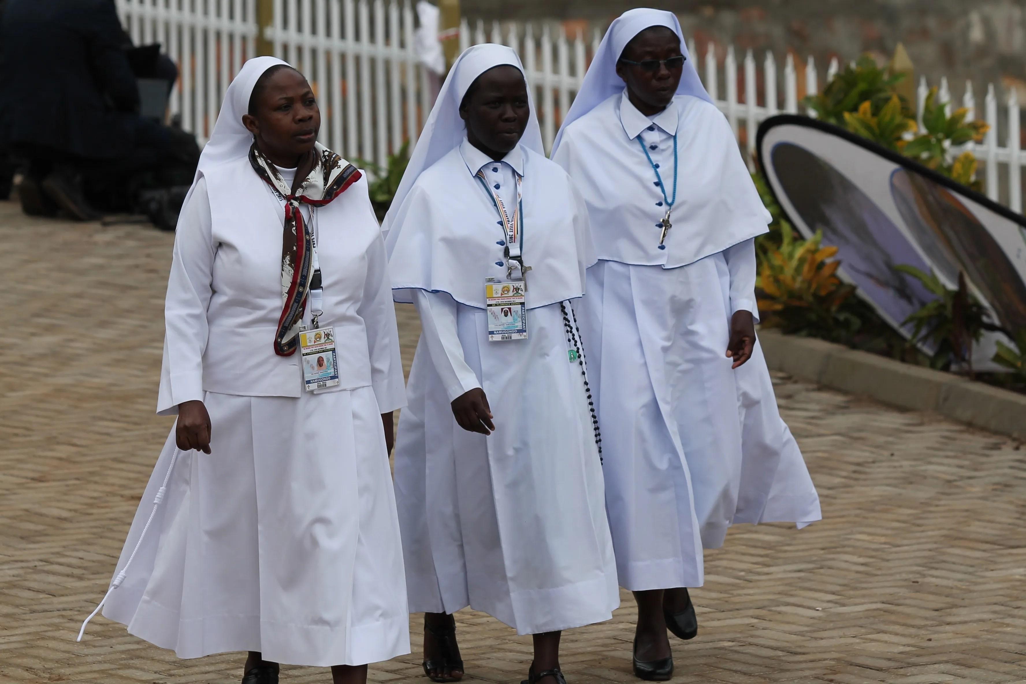 Pope Francis three words for Ugandan religious Memory