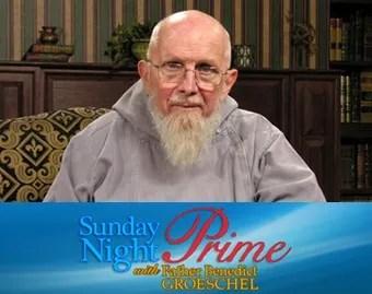 Padre Benedict Groeschel. Crédito: EWTN.